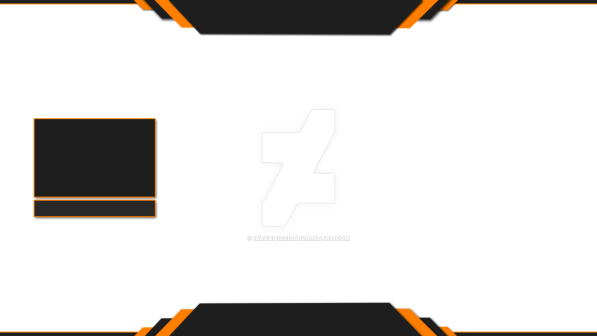 Youtube overlay png. Professional twitch by isacrificed
