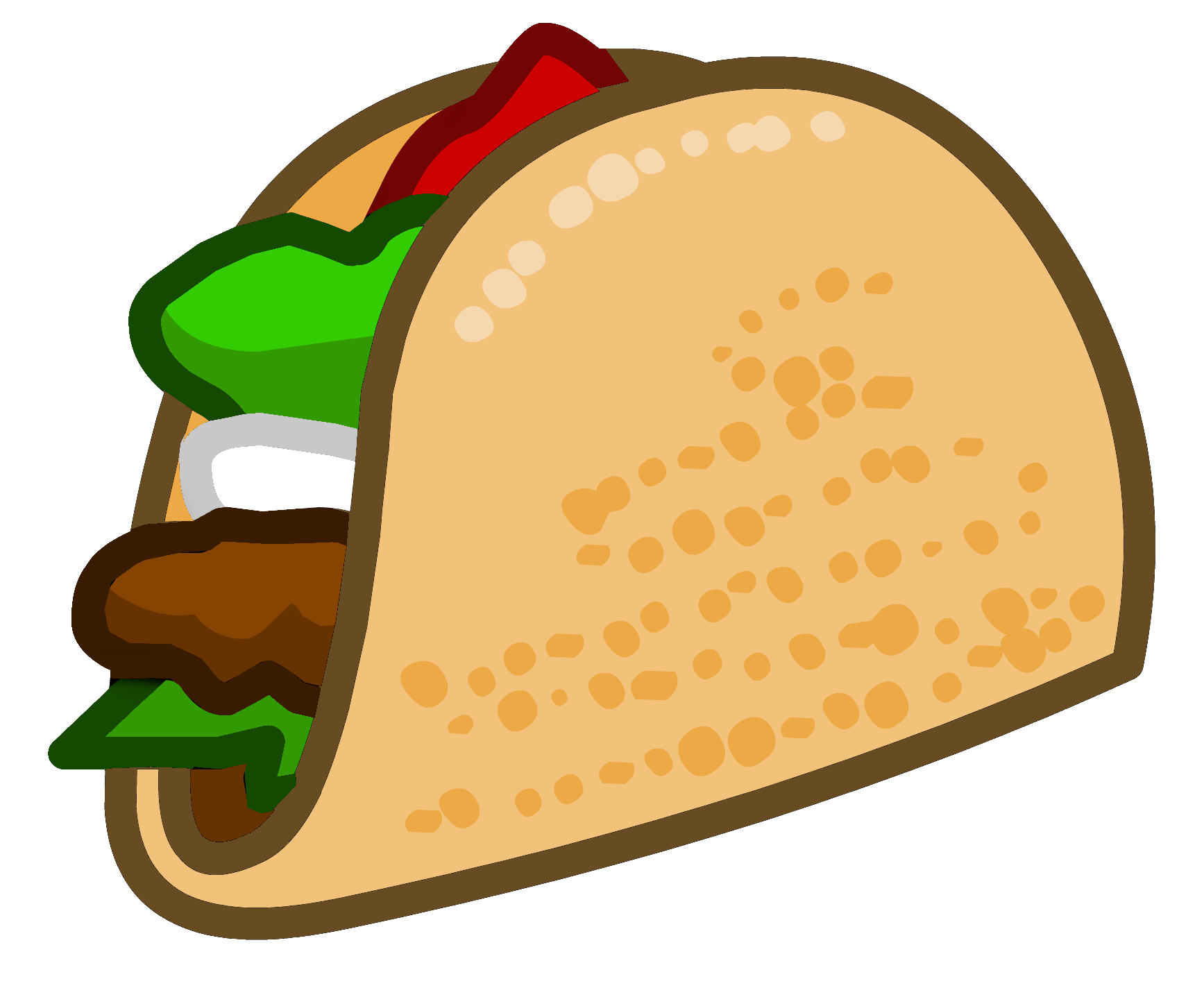 Taco clipart at getdrawings. Youtube subscribe bell icon png banner black and white download