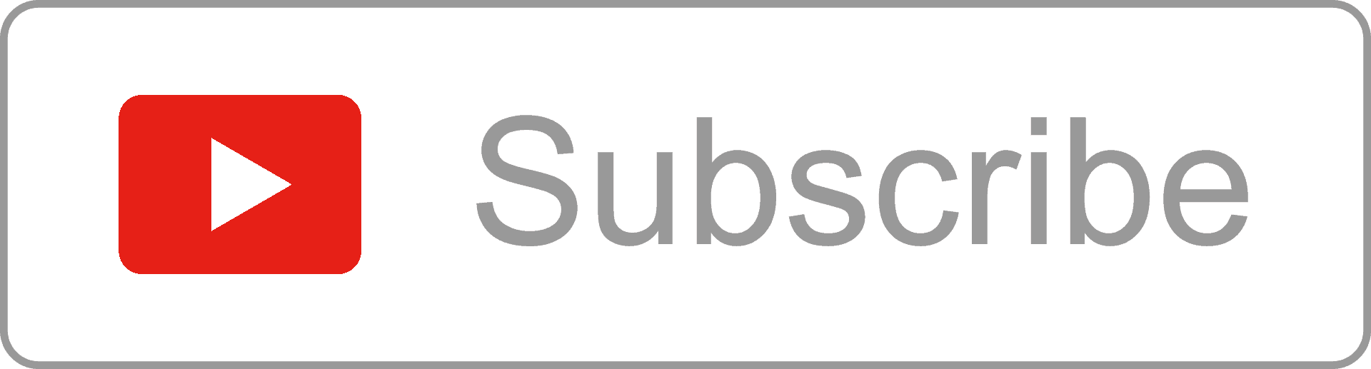 Youtube subscribe button 2016 png. Free outline by alfredocreates