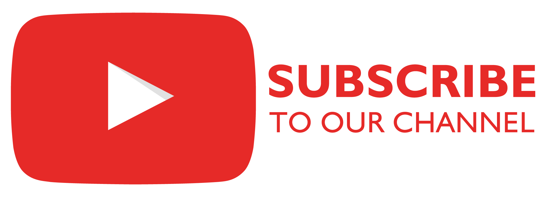 Youtube subscribe png. To our channel