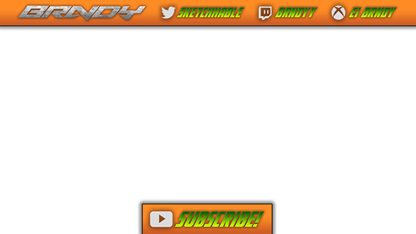 Youtube video overlay png. Images of template