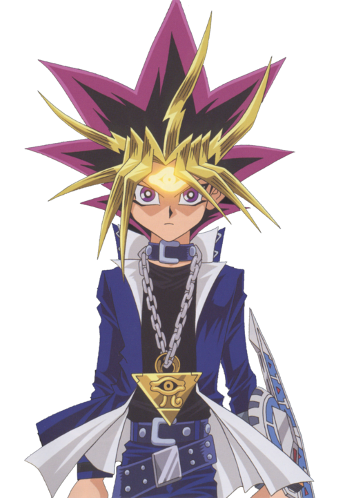 Yugi hair png. Transparent anime images for