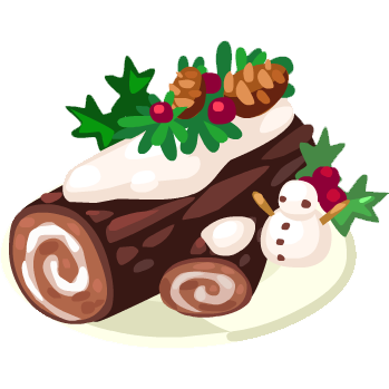Yule log png. Image restaurant city wiki