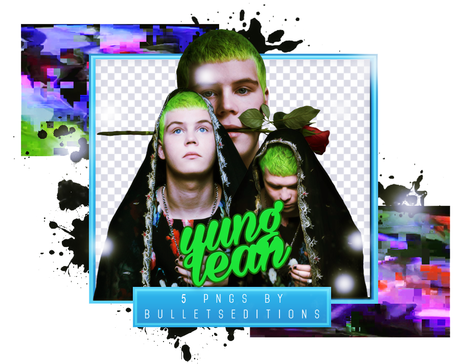 Yung lean png. Vii pack by bulletseditions