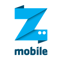 Z vector. Mobile logo eps free