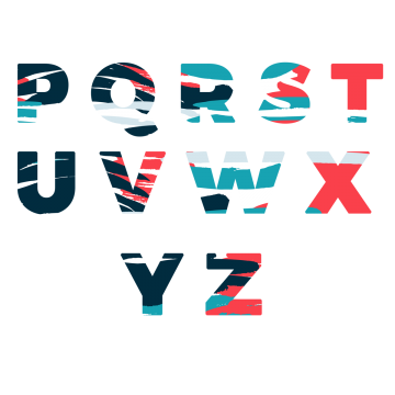 Vector style graffiti letter. X amp z png