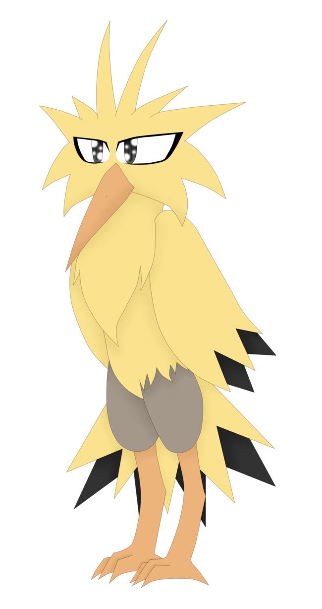 Legendary pokemon s by. Zapdos drawing picture transparent