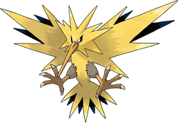 Zapdos drawing. Wikipedia