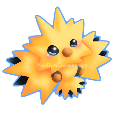 Zapdos drawing cute. Image result for super
