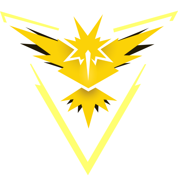 Team instinct by musiculia. Zapdos drawing easy jpg free