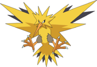 Zapdos drawing thunderbird. On legends and reality