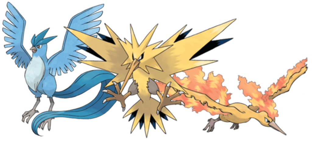 Zapdos drawing mythical. Legendary pokemon go generation