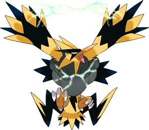 Zapdos drawing mythical. Shiny mega pok dex