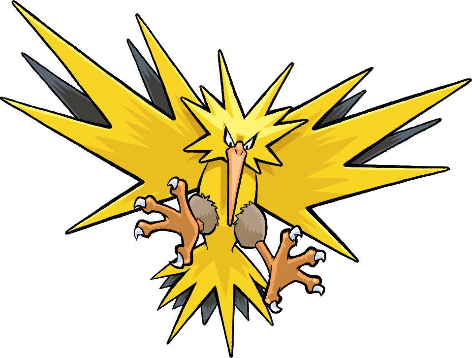 15 Zapdos Drawing Name For Free Download On Ya Webdesign