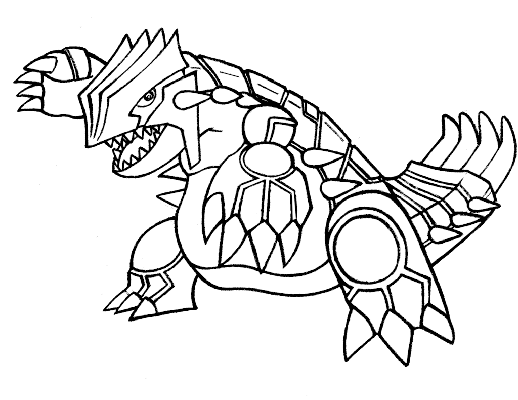 Groudon drawing transparent. Suicune pokemon coloring page