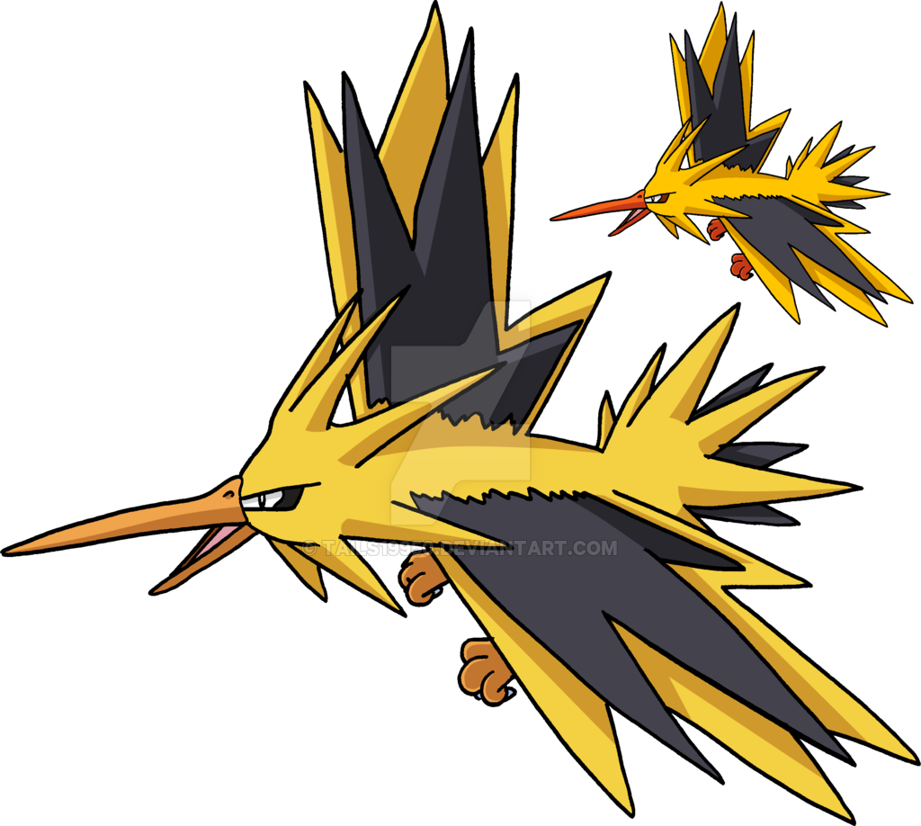art v by. Zapdos drawing ash png transparent library