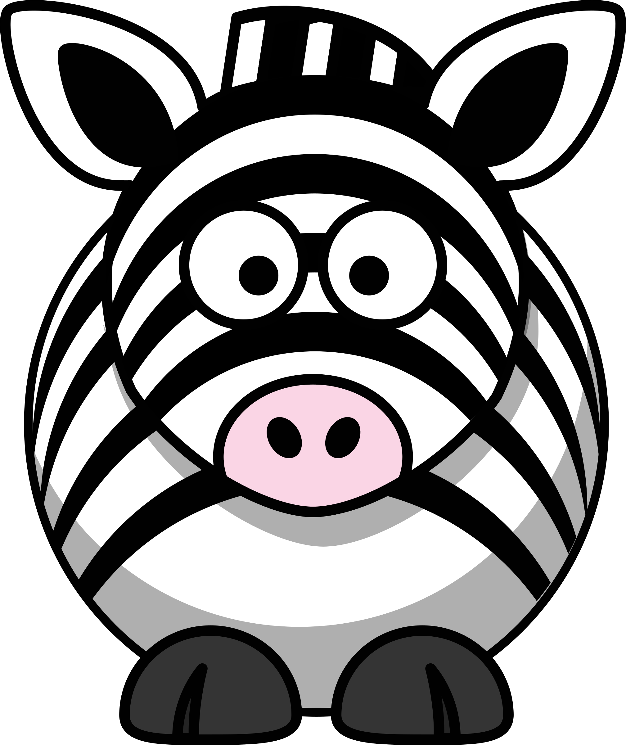Zebra cartoon png. Icons free and downloads