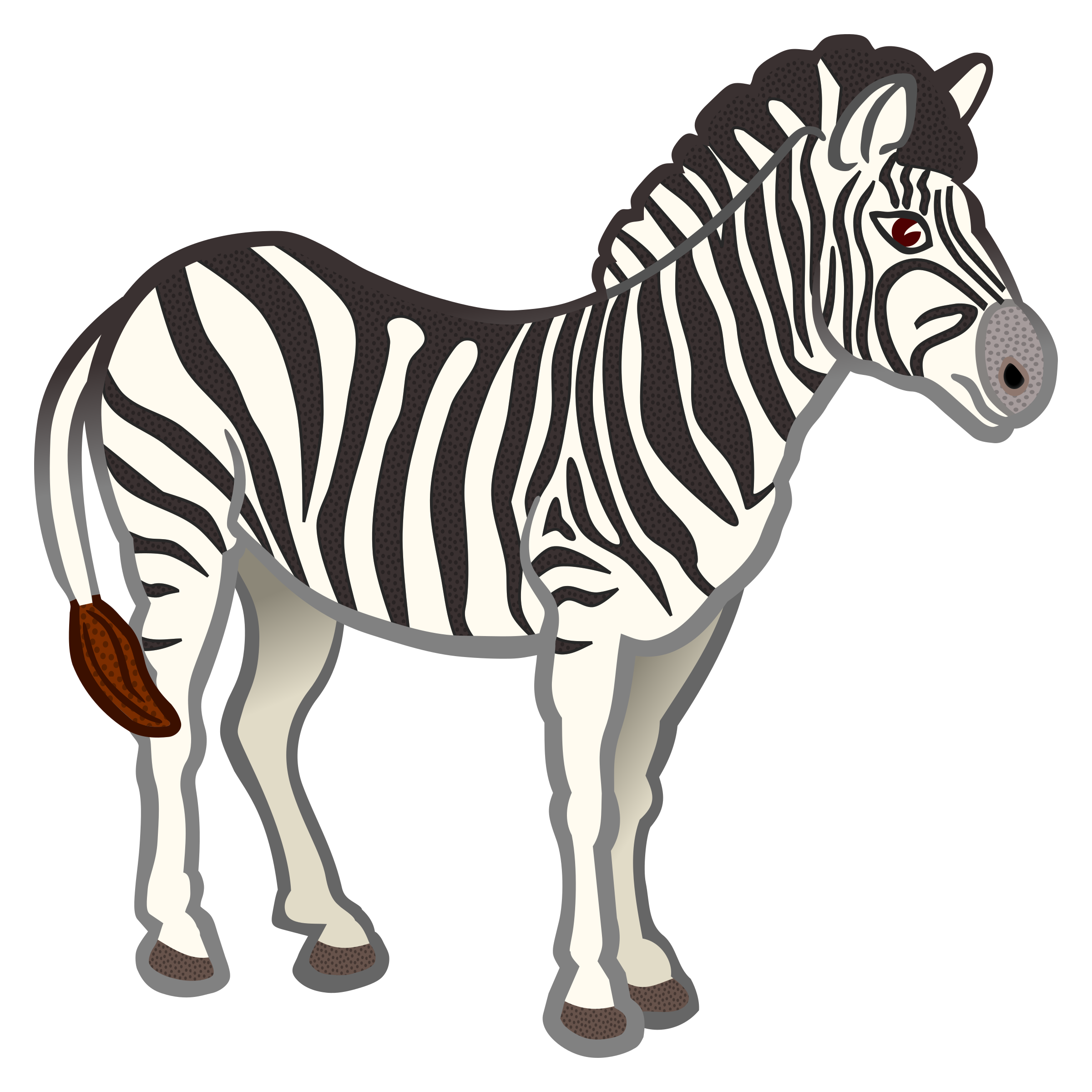 Zebra clipart purple zebra. Coloured icons png free