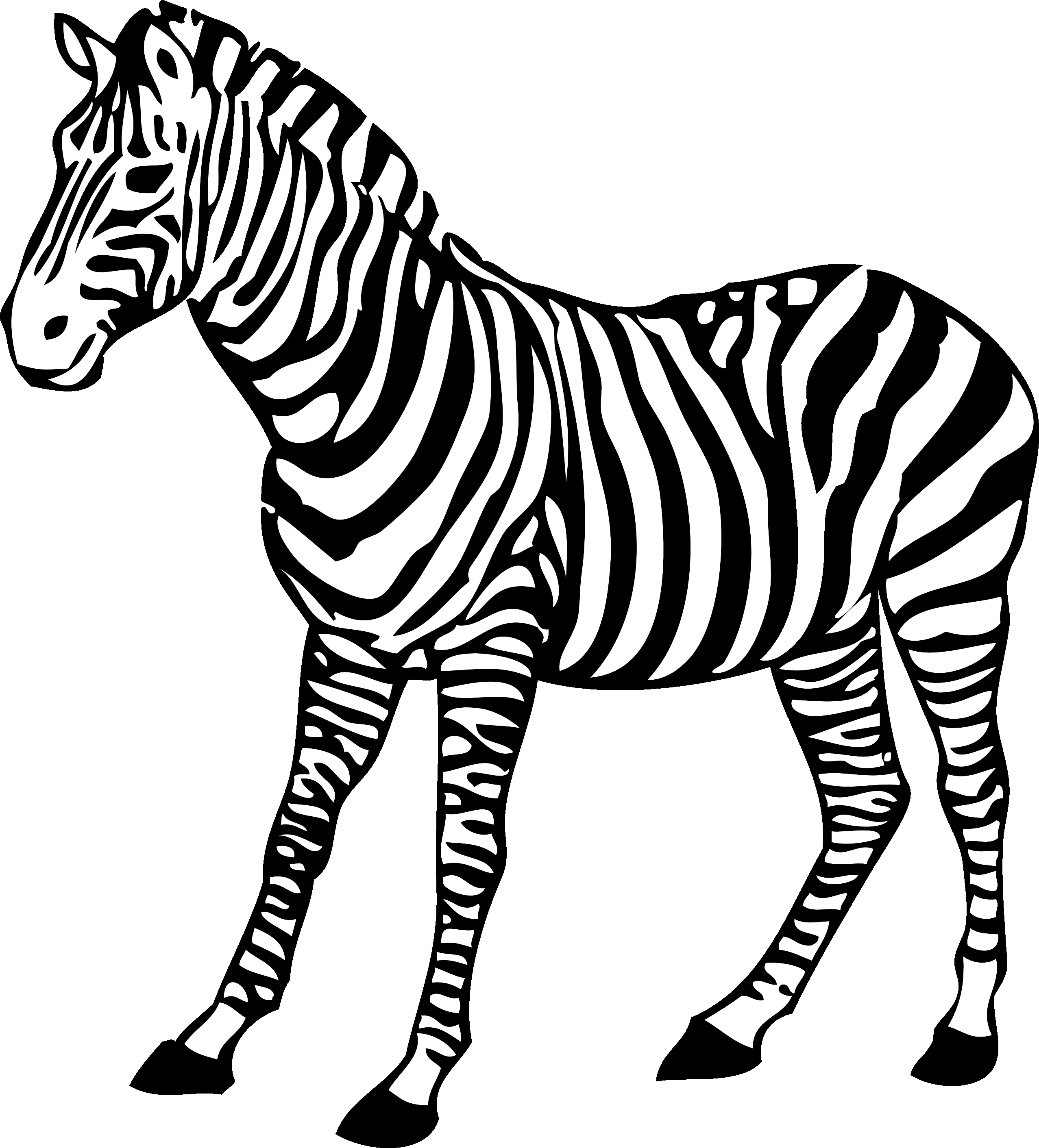 Awesome collection digital p. Zebra clipart purple zebra vector free library