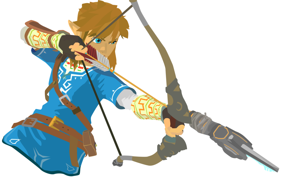 Transparent link zelda clipart. Breath of the wild