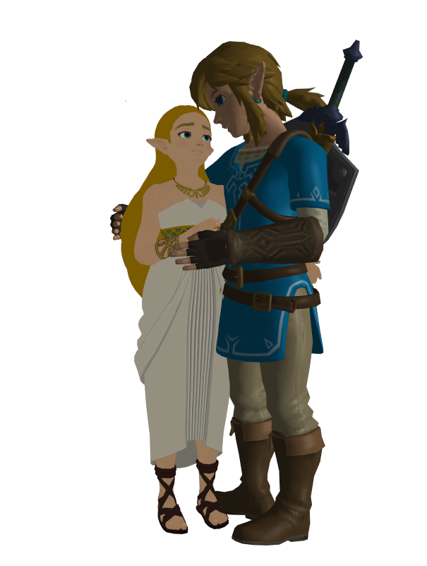 Breath of the wild zelda png. Link x are together