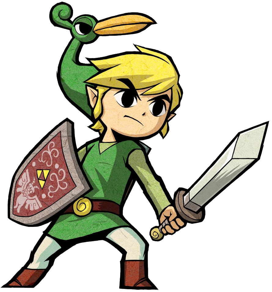 link and zelda png
