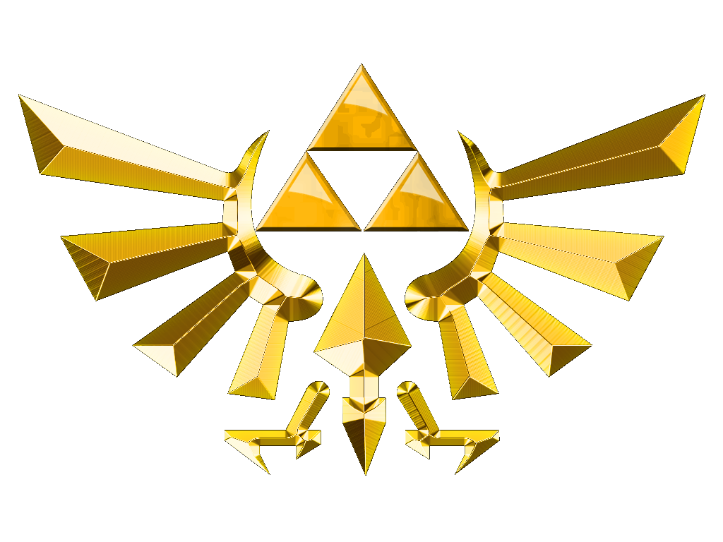 Zelda crest png. Triforce symbol google search