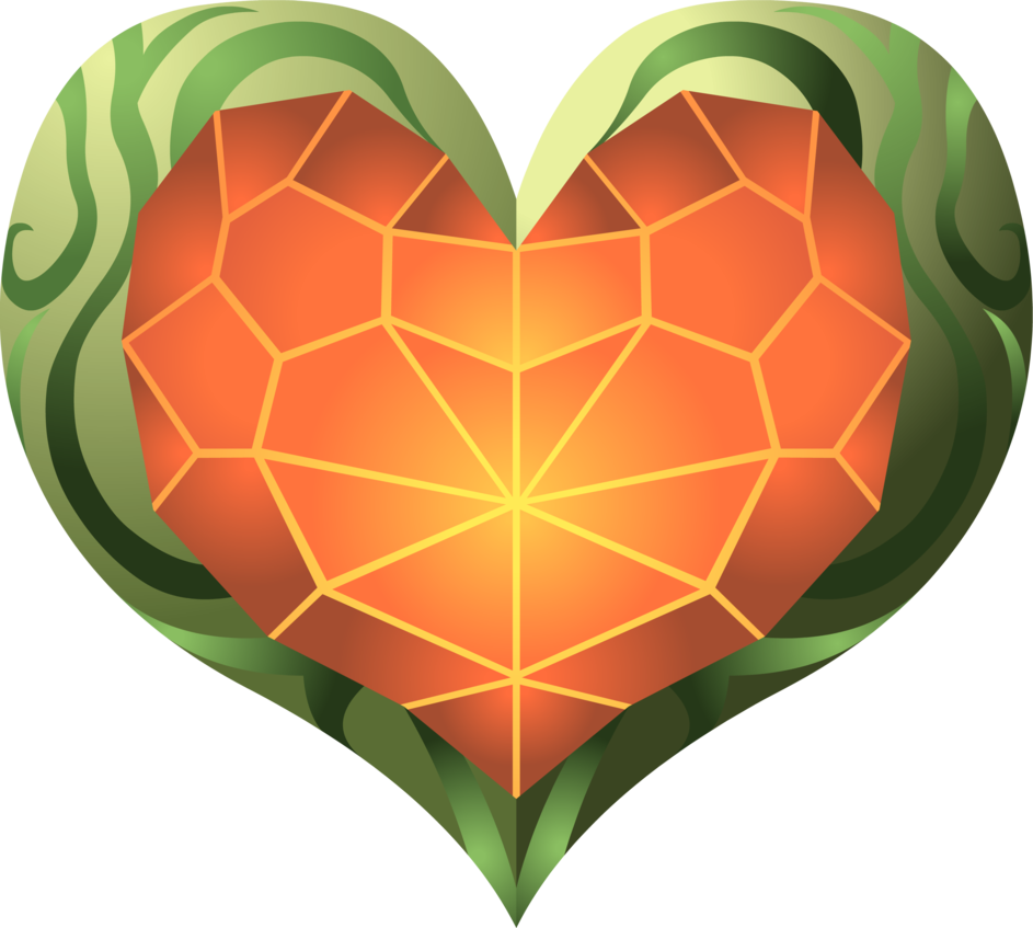 Zelda heart container png. Tp by doctor g