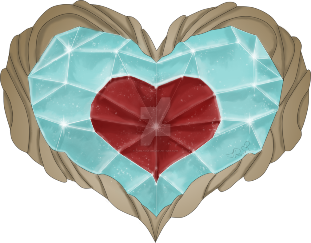 Zelda heart container png. By adream fsin on