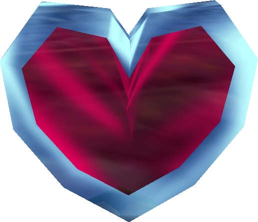 Zelda hearts png. Ocarina of time heart