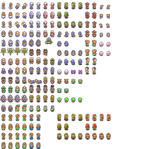 Zelda link to the past sprite png. A resource pack updated