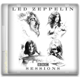 Zeppelin drawing old. Led bbc sessions icon