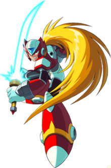 Zero drawing mega man. Wikipedia as he appears