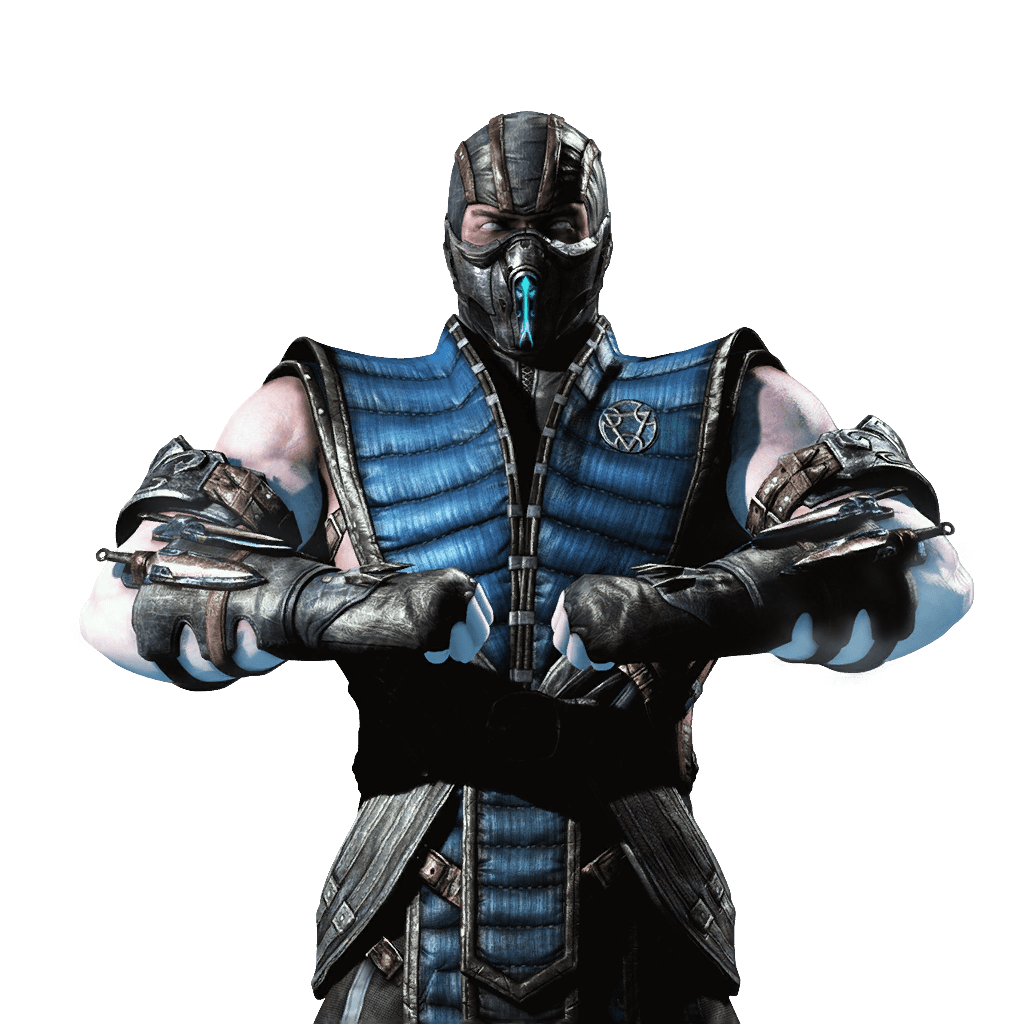 Zero drawing mortal kombat. Crossed arms transparent png