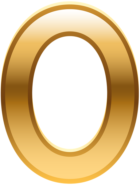 Zero transparent number. Golden png image gallery