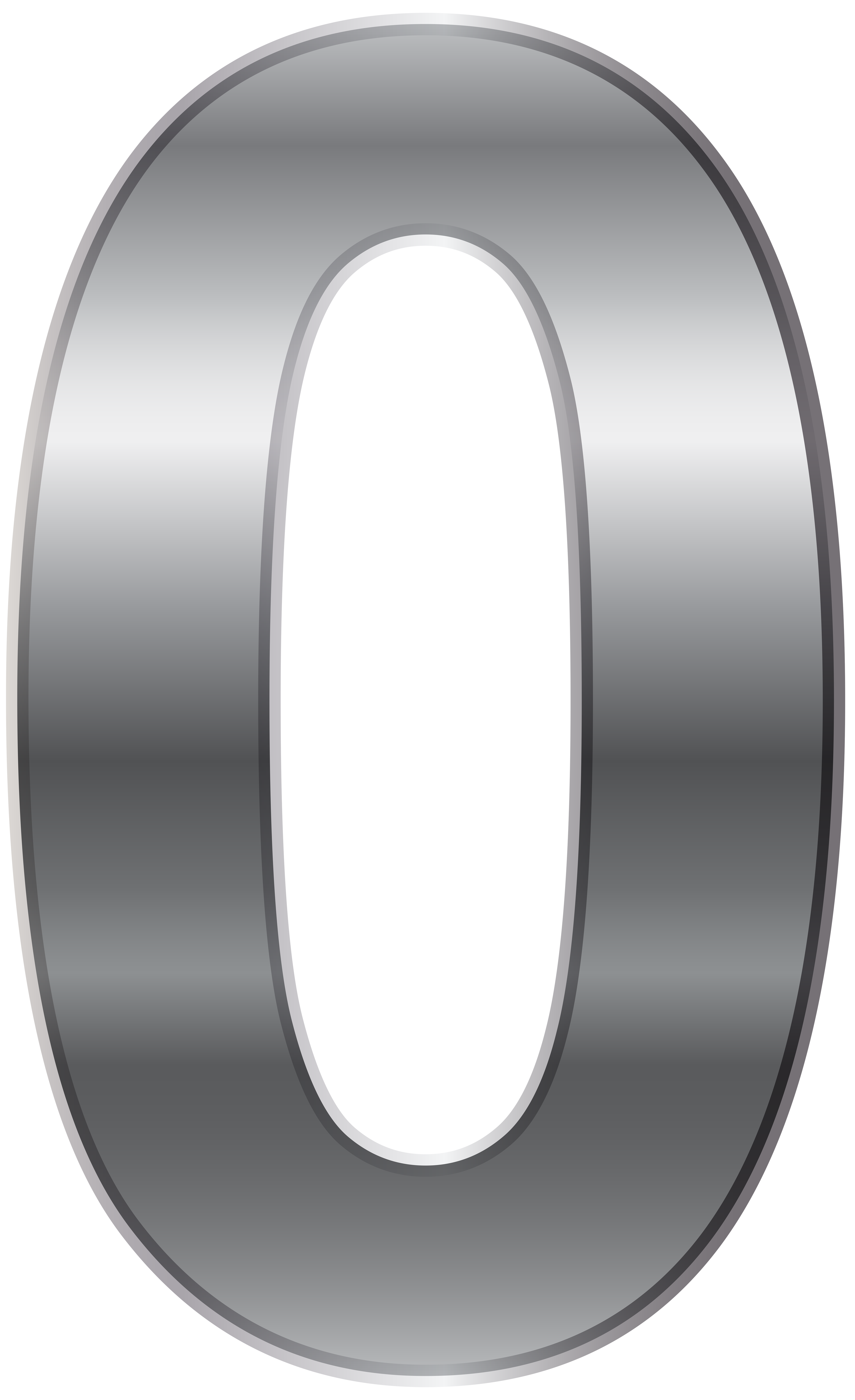 Silver number png clip. Zero transparent picture black and white library