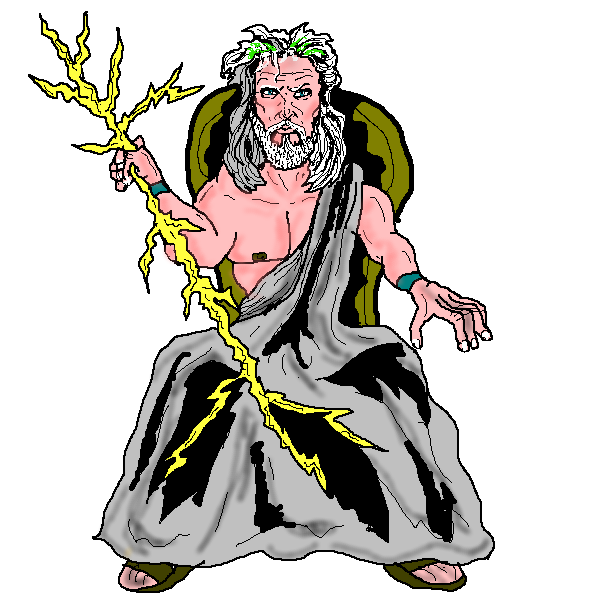 Zeus clipart illustration. Displaying clipartmonk free clip