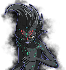 Zexal vector dark. Number tag force yu