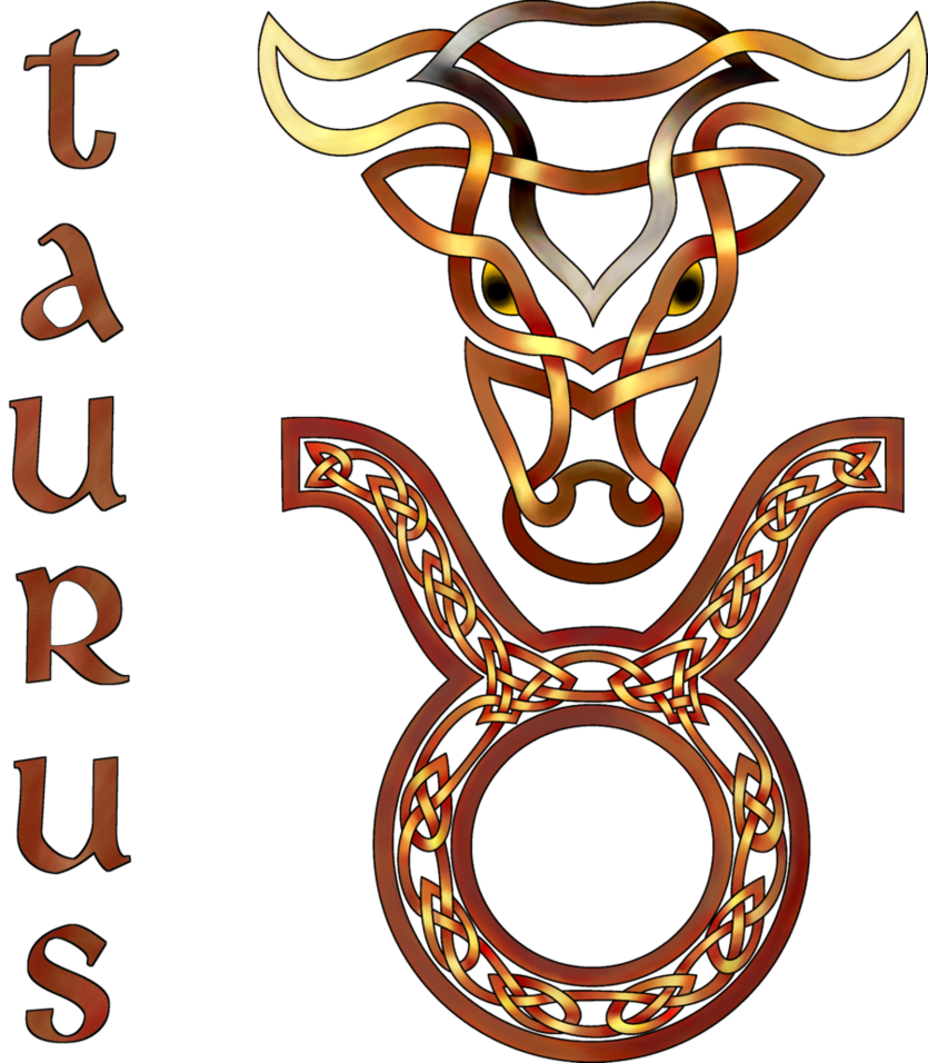 Zodiac drawing celtic. Knot taurus by knotyourworld