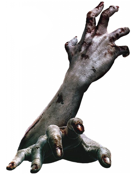 Scary hand png. Zombie arms hands dead