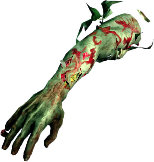 zombie arm png