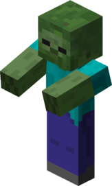 Zombie effect png. Official minecraft wiki