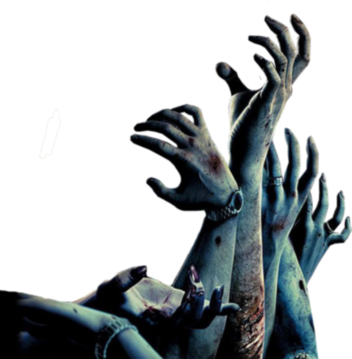 Zombie hands png. Image