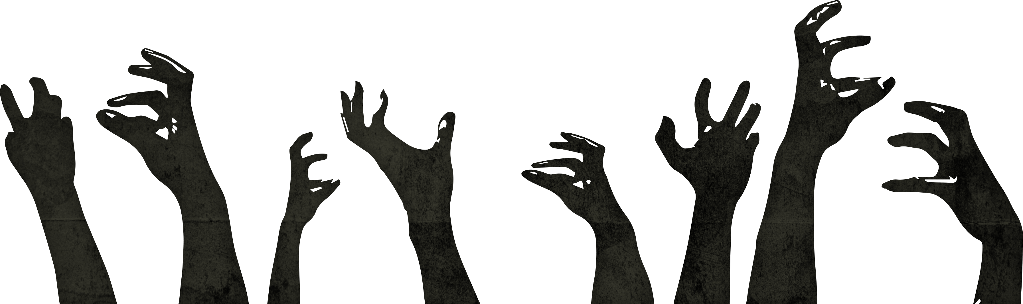Zombie hands png. Classroom h z game