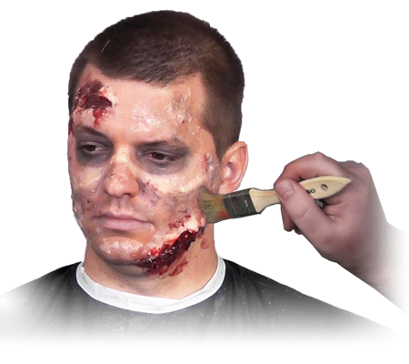 Zombie makeup png. Buy ultimate kit on