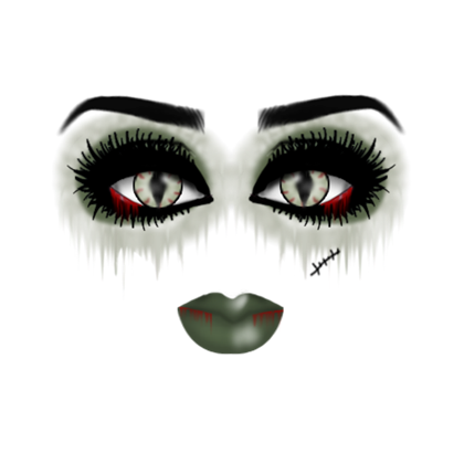 Roblox . Zombie makeup png png library download