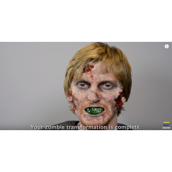 Tutorial . Zombie makeup png clipart free stock