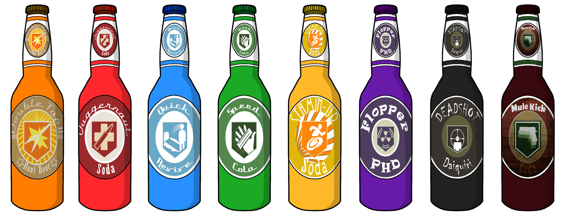 Zombies perks png. Perk a colas by