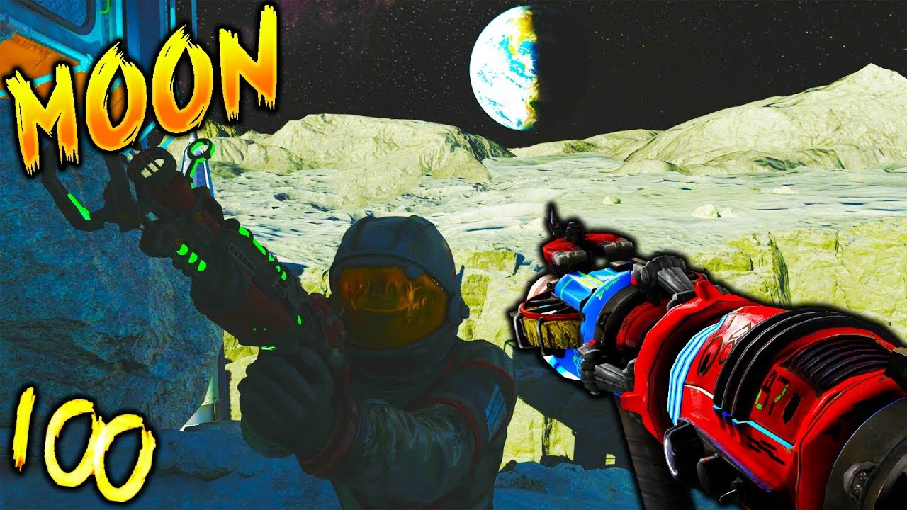 Zombies round 100 png. Moon challenge dis ish