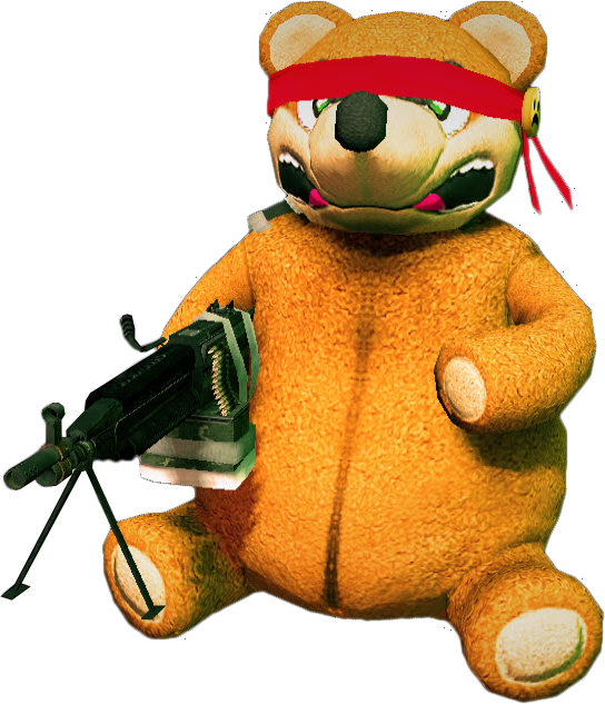Zombies teddy bear png. Image dead rising freedom